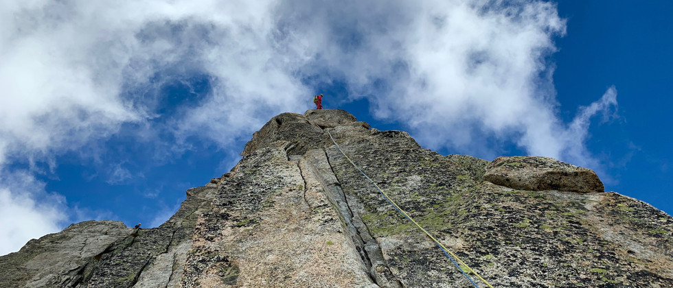Bergseeschijen Südgrat, Klettern, Bergführer, Topo