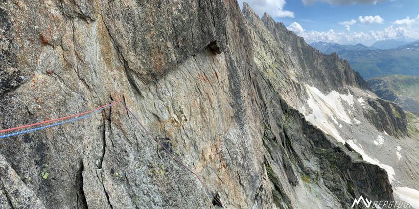 Graue Wand Niedermann Ziegenrücken