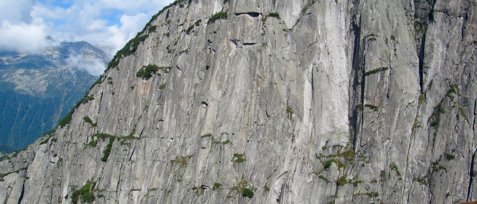 Teufelstalwand Klettern Mehrseillängen