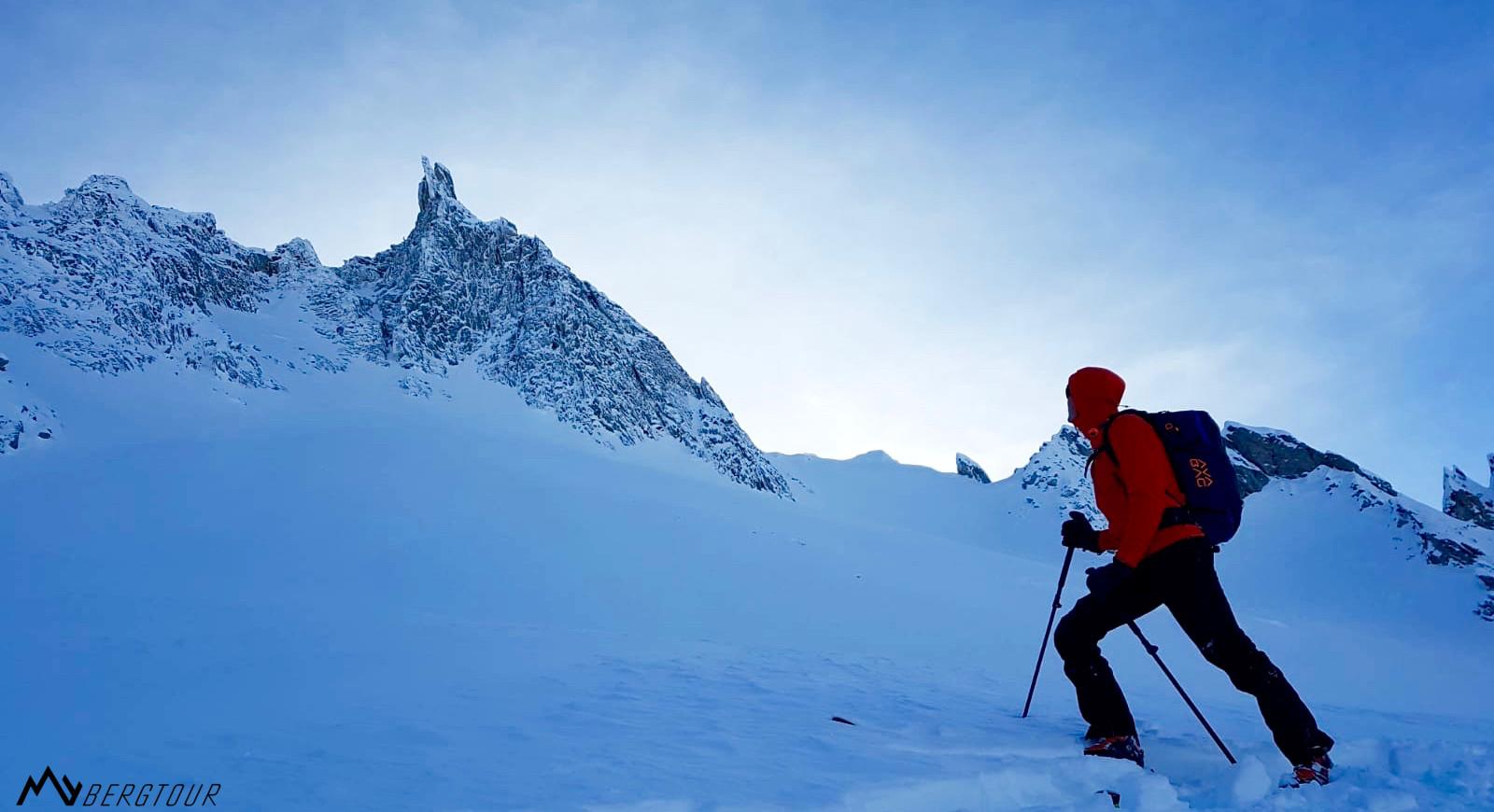 Skitour mit den Bergführern von mybergtour alpin