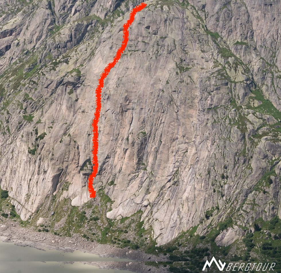 Eldorado Motörhead Klettern Verlauf Bergführer mybergtour