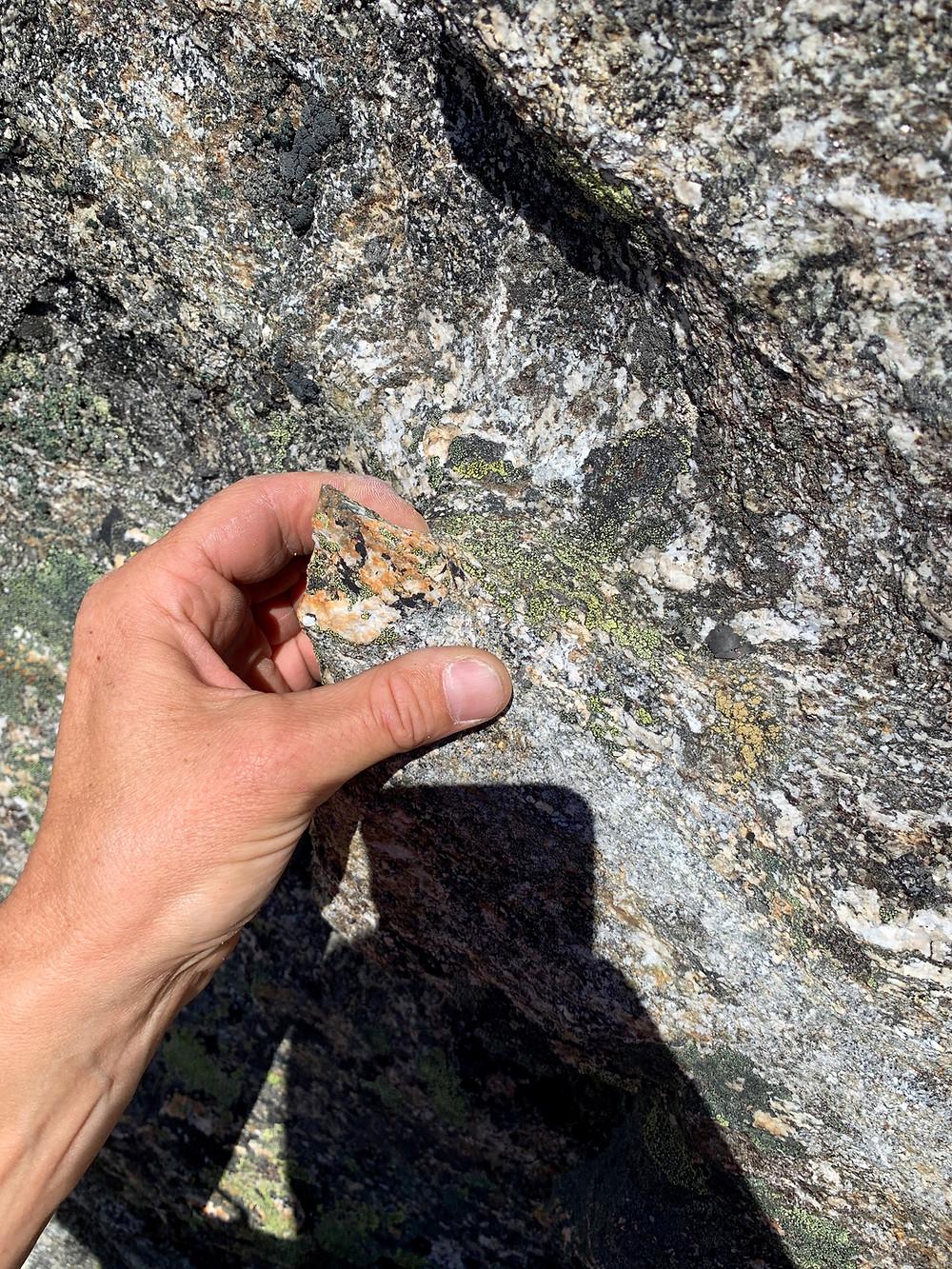 Kletterstrukturen in der Tour Bohrgeist