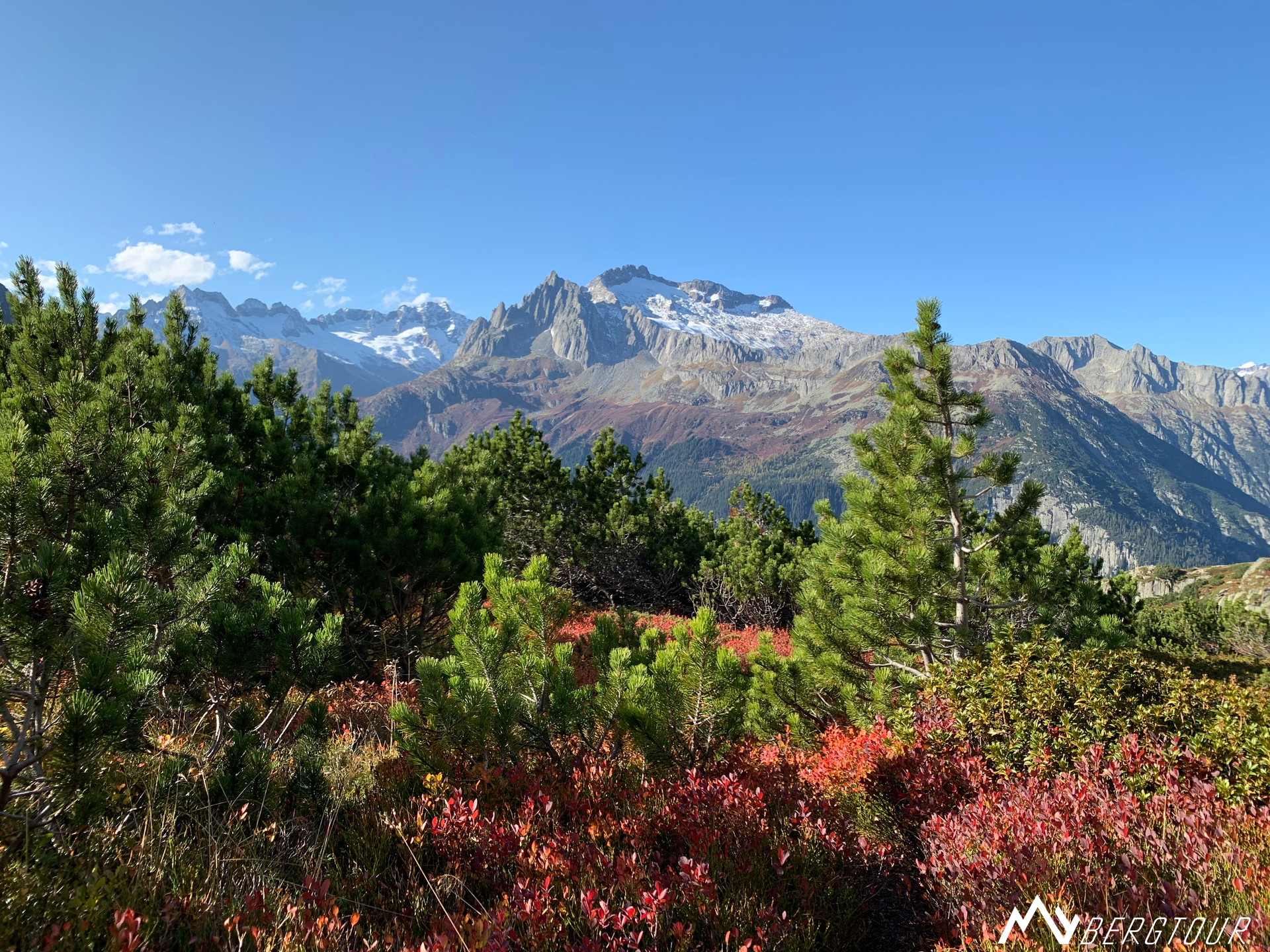 Teufelstalwand Klettern mybergtour Blick auf Salbit