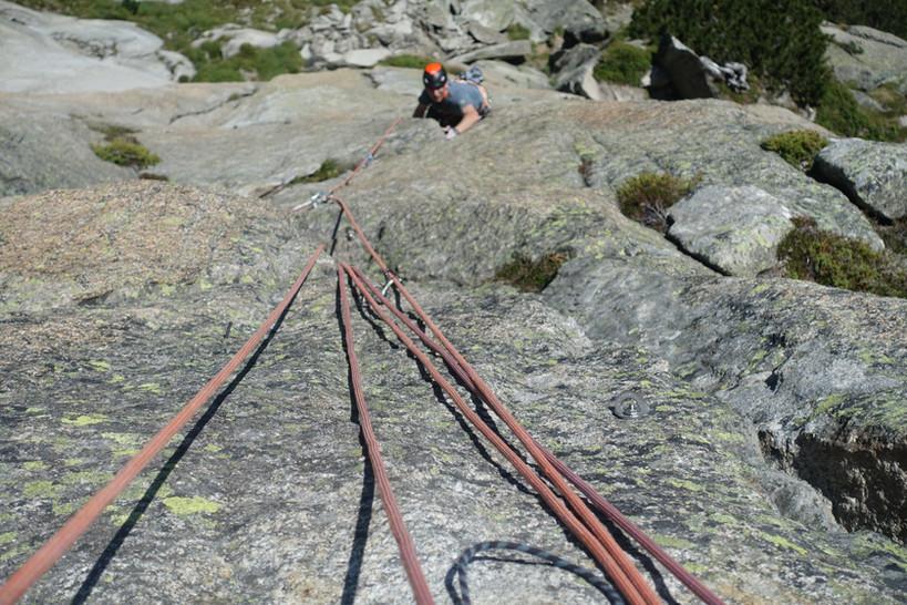 Teufelstalwand Klettern Im Zeichen der Freundschaft mybergtour