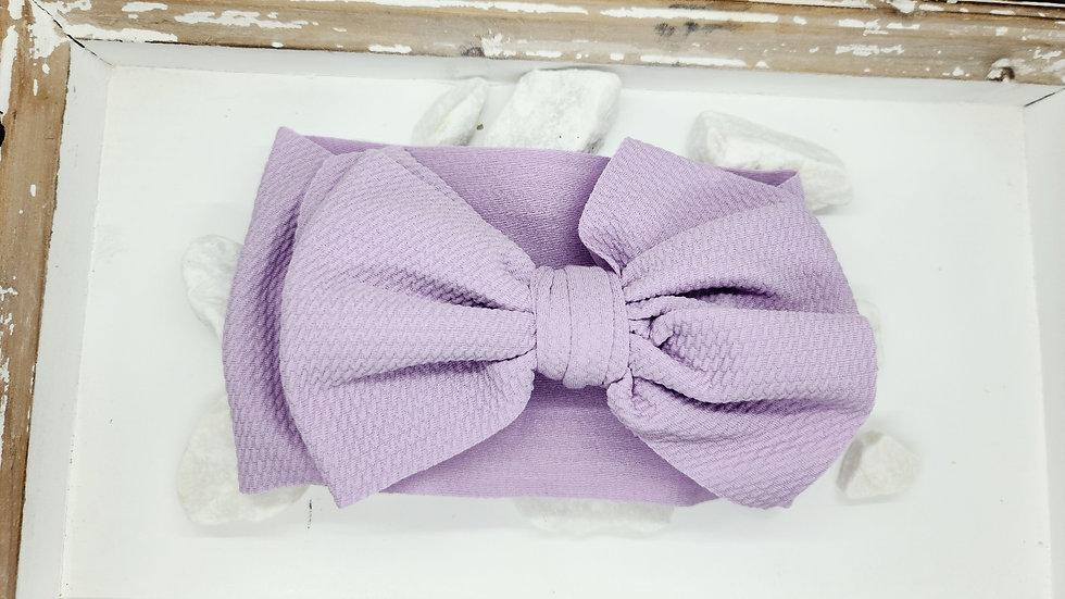 Purple headvwrap