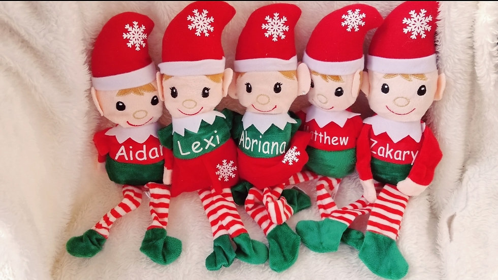 Personalized Elves Girl