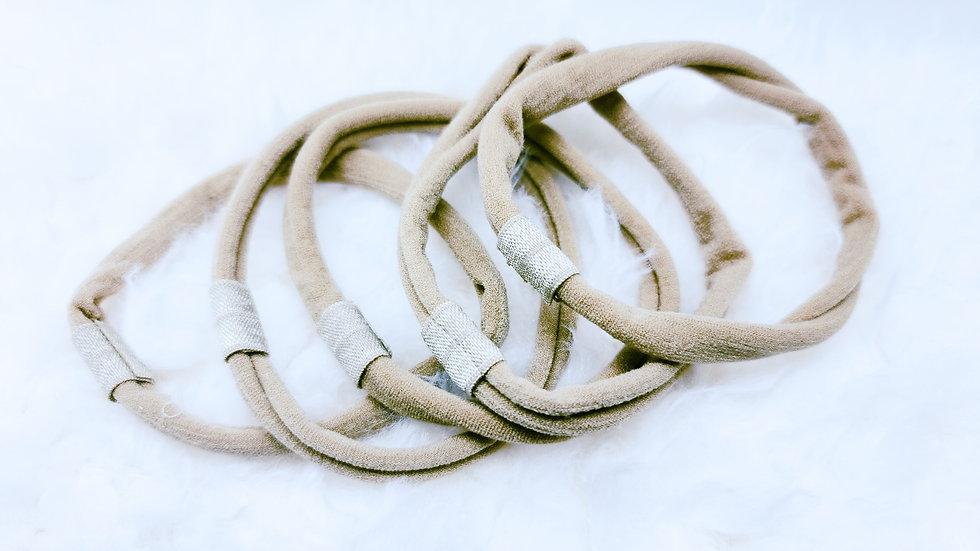 Attachable Nylon Headbands
