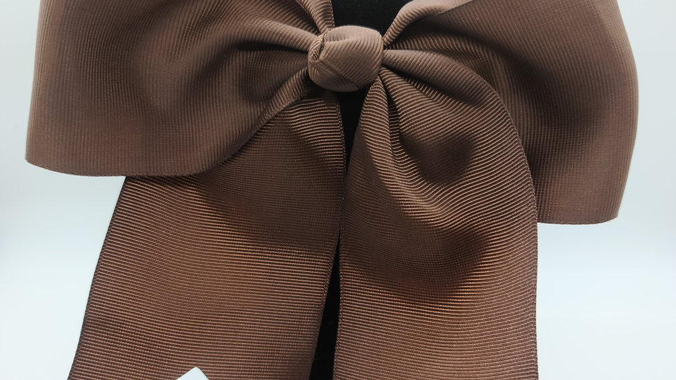 Brown Cheer Bow
