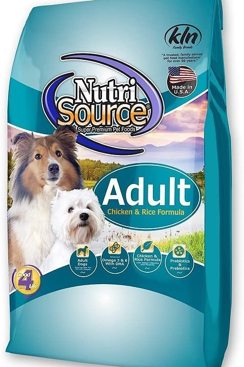 30LB NUTRISOURCE ADULT DOG FOOD