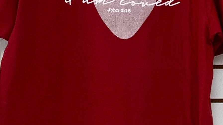 """I Am Loved"" T-shirt"
