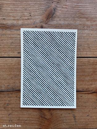 Postkarten Muster A6 einzeln