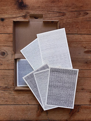 Muster-Postkarten A6 in der Box