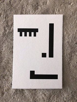 Postkarten «Gesichter»