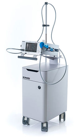 ems swiss dolorclast master shockwave machine