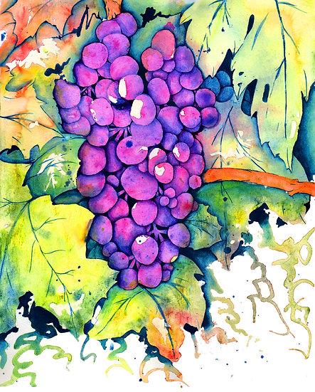 Aunt Di's Grapes