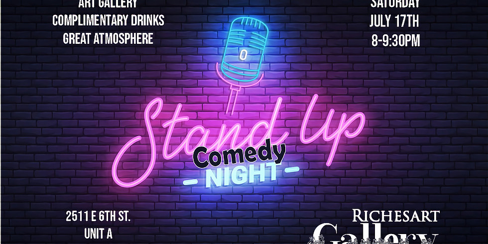 Stand up Comedy night @ the Gallery