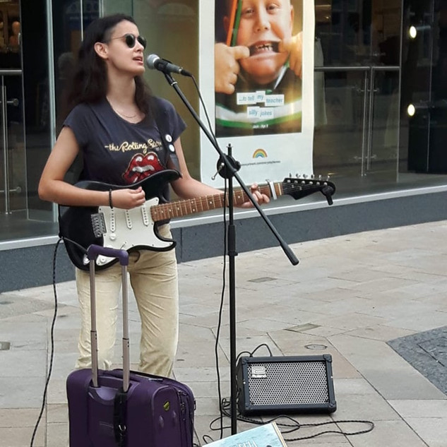 Busking in Bromley