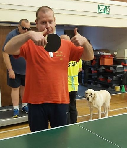 Thumbs up for table tennis
