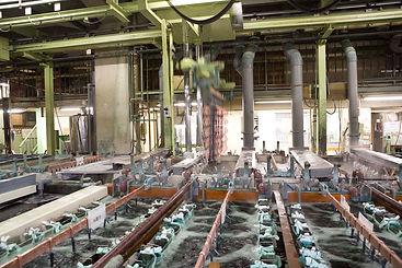 亜鉛ダイカスト・真鍮メッキ自動生産ライン