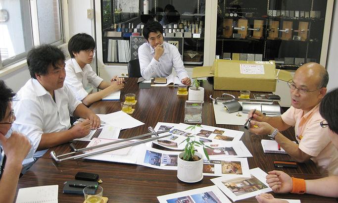 カワジュンとの新商品開発会議