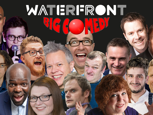 Big Comedy UK launch their monthly night at The Waterfront this Saturday