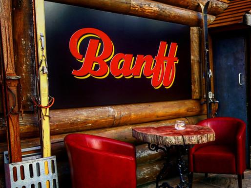 It's snow joke! We love Banff