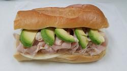 turkey and avocado sub