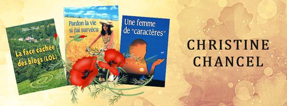 Christine Chancel - Bannière Facebook
