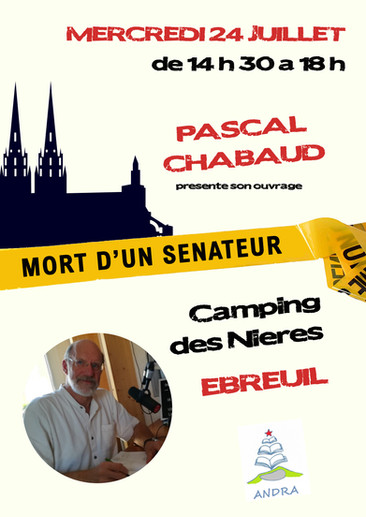PASCAL CHABAUD - Affiche