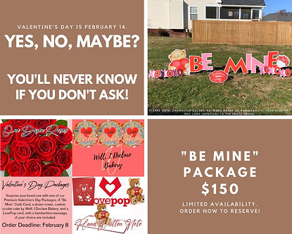"""""""Be Mine"""" Package"""