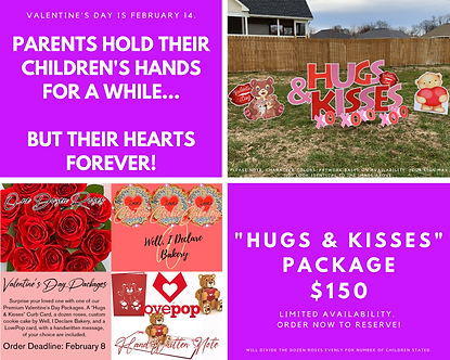 """Hugs & Kisses"" Package"
