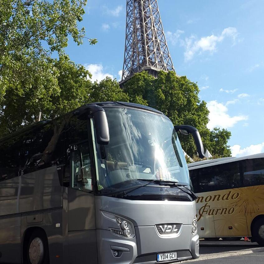 Paris by coach