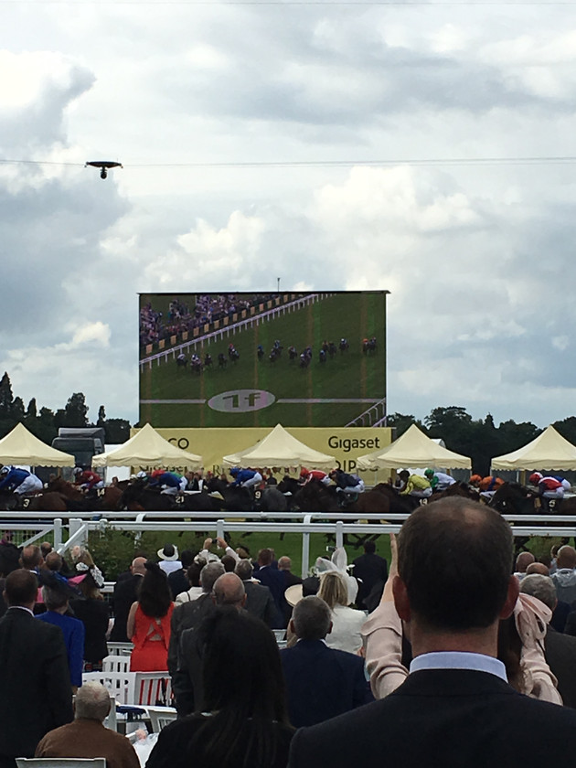 Race course in ascot