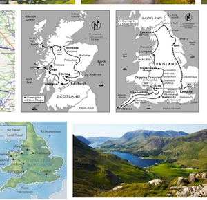 England – Scotland – Wales itinerary, Coach Hire