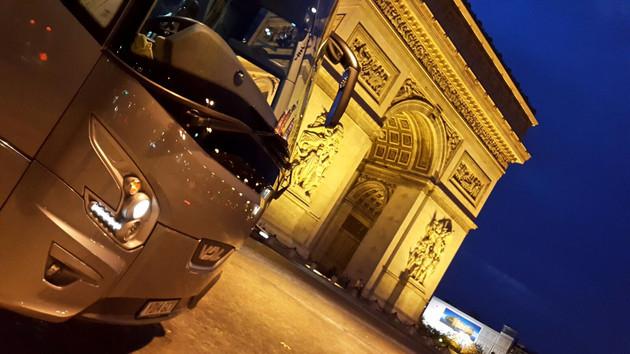Visiting Paris by Coach