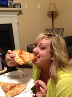 Janine loves our Pizza
