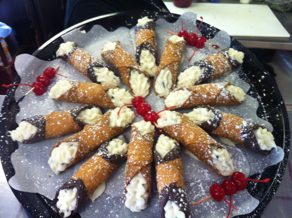 Canolli tray for your event