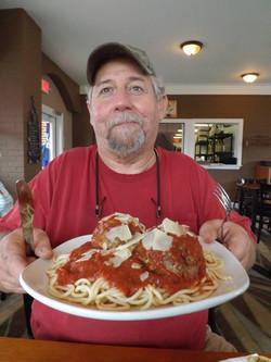 Sean VS Meatballs and Spaghetti!
