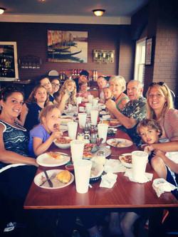 Family dinner at Rucci's