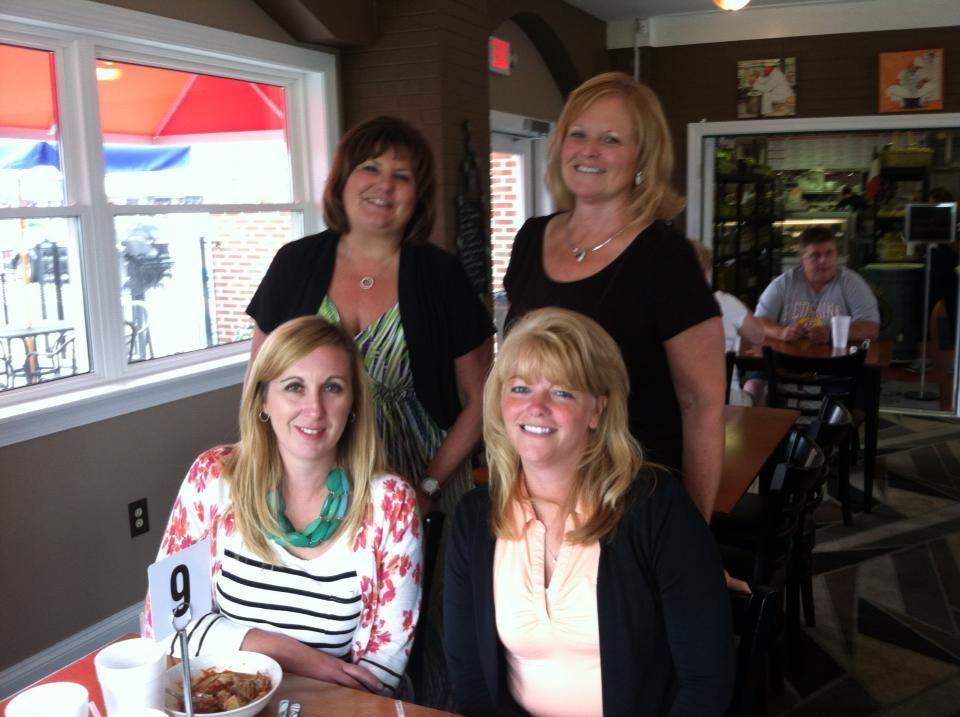 Office Staff enjoys lunch at Rucci's