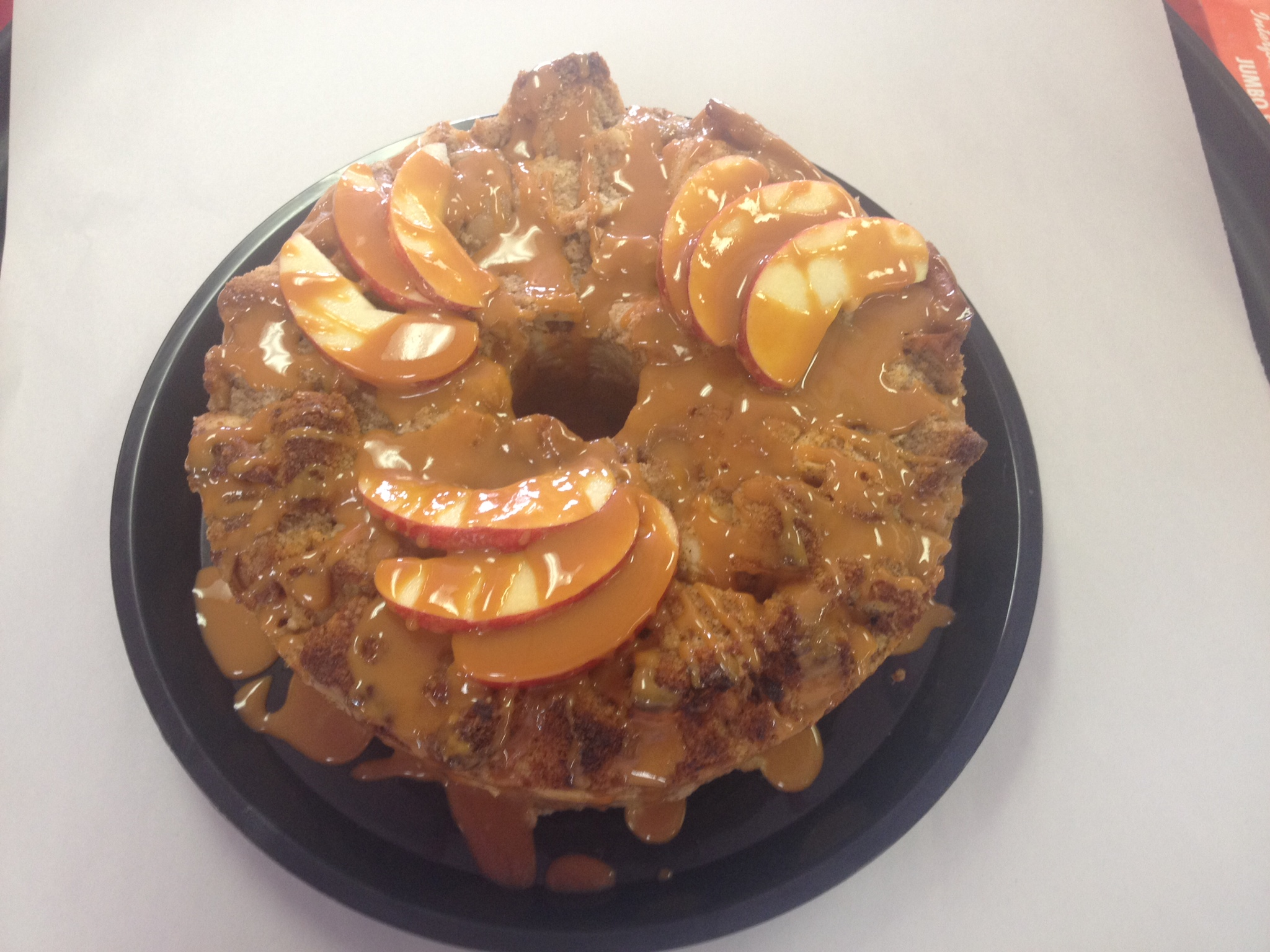 Bundt Bread Pudding