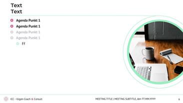 Powerpoint template - Illigen Coach & Consult