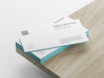 Aquila Initiative business cards
