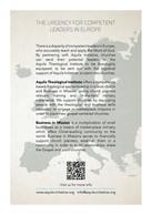 Aquila Initiative flyer - reverse