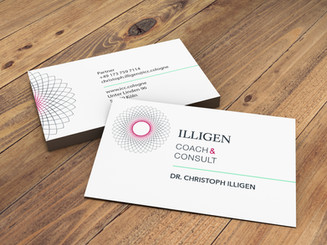 Illigen Coach & Consult Business cards