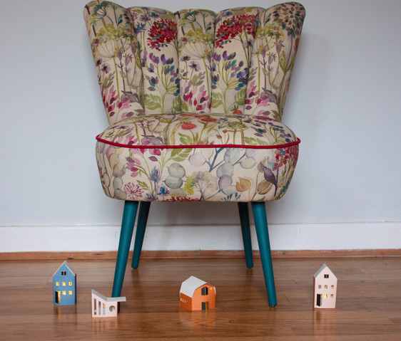 Floral Cocktail Chair