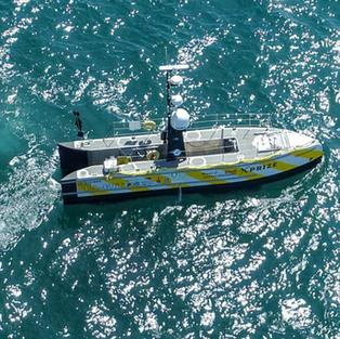 SEA-KIT USV at sea