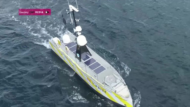 Reuters coverage of SEA-KIT's 22-day Atlantic mission