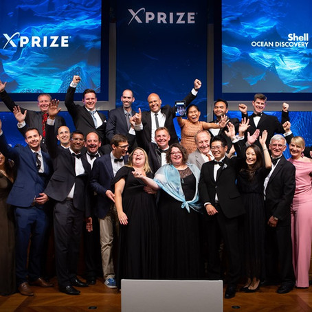 Shell Ocean Discovery XPRIZE Winners!