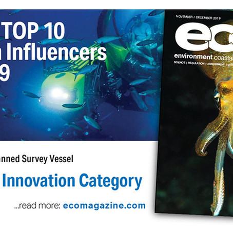 SEA-KIT Wins ECO's Ocean Influencers of 2019!
